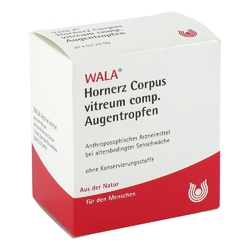 Hornerzcorpus vitreum comp. krople do oczu