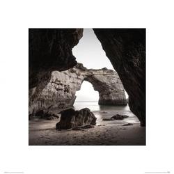 Praia da marinha - reprodukcja