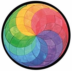 Układanka Magnetyczna, okrągła, Grimms
