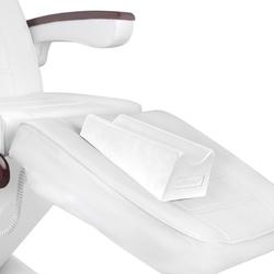 Podnóżek do pedicure na fotel act biały