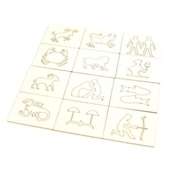 Znaki Zodiaku - zestaw 12 ramek