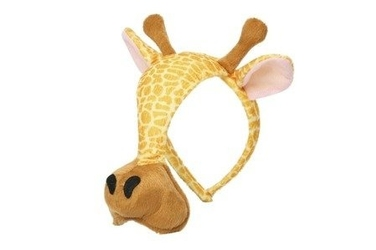 Grimini, maska-opaska żyrafa