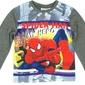 Bluzka spiderman my hero  szara 8 lat
