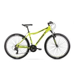 Rower górski romet rambler r6.0 jr 26 2020, kolor zielony-limonkowy, rozmiar 17