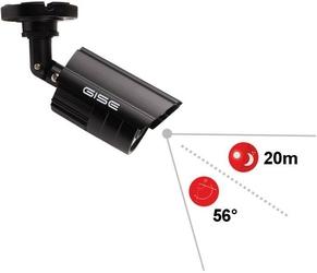 Zestaw 4w1, 3x kamera hdir20m, rejestrator 4ch - szybka dostawa lub możliwość odbioru w 39 miastach