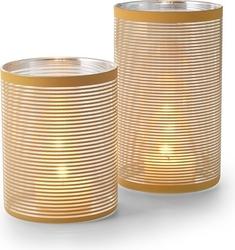 Świecznik amber 15 cm