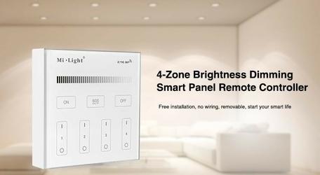 Milight - 4-zone brightness dimming smart panel remote controller - b1