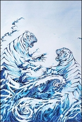 Marc allante the crashing waves - plakat