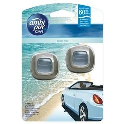 Ambi pur car, jaguar, ocean, odświeżacz powietrza do samochodu, 2x2ml