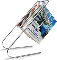 Stojak na magazyny float chromowany