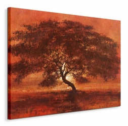 Desert Tree - Obraz na płótnie