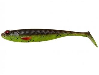 Przynęta effzett shadster slim bulk 6.5cm 2.3g - motoroil chartreuse uv