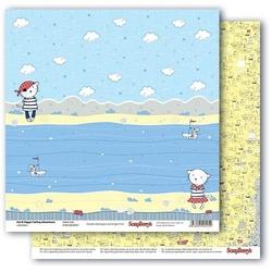 Papier 30x30 cm ZoeZiggy - Sailor Cats - 02