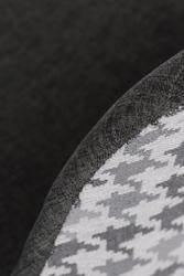 Krzesło p016w pattern szarypepitka
