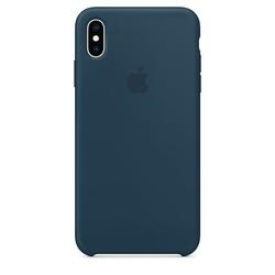 Apple silikonowe etui do iphonea xs max - oceaniczna zieleń