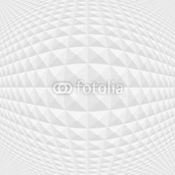 Plakat na papierze fotorealistycznym szary wzór kostki