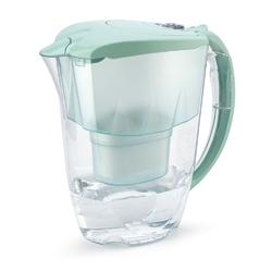 Dzbanek filtrujący wodę z 2 wkładami aquaphor jasper b100-25 miętowy 2,8 l