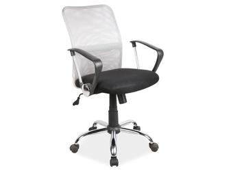 Fotel obrotowy q-078 czarno-szary