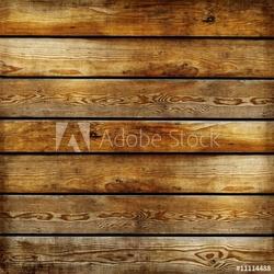 Plakat na papierze fotorealistycznym delikatna faktura drewnianych desek