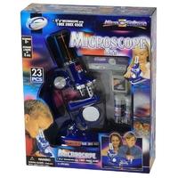 Mikroskop zestaw naukowy 23 el.