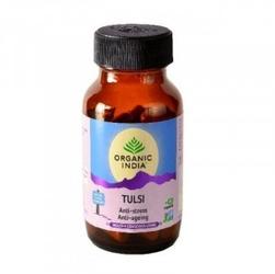 Tulsi 60 kapsułek organic india odporność suplement diety