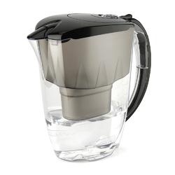 Dzbanek filtrujący wodę z wkładem aquaphor jasper b100-25 maxfor czarny 2,8 l