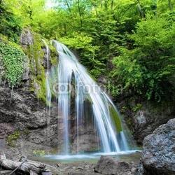 Tapeta ścienna wiosenny wodospad