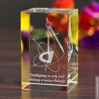 Geometria 3d • personalizowany kryształ 3d • grawer 3d