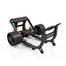 Maszyna na mięśnie pośladkowe na wolny ciężar bb platinum - booty builder