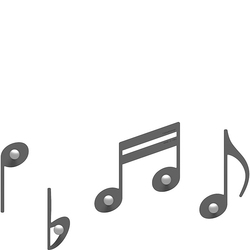 Wieszaki ścienne Rossini CalleaDesign szare 51-13-2-3