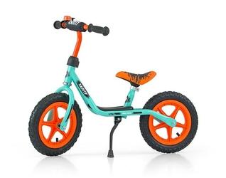 Milly mally dusty pistacjowy rowerek biegowyhulajnoga pompowane koła + prezent 3d