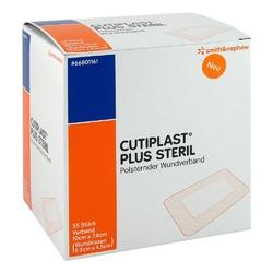 Cutiplast plus steril 7,8x10 cm verband