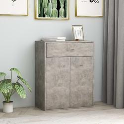 Vidaxl szafka, betonowa szarość, 60 x 30 x 75 cm, płyta wiórowa