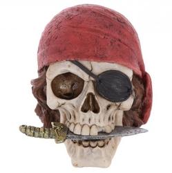 Czaszka pirata - figurka