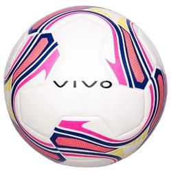 Piłka nożna vivo goal 5 biało-różowo-żółta