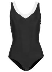 Kostium kąpielowy shape level 1 bonprix czarny
