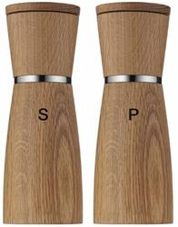 Zestaw 2 drewnianych młynków wmf ceramil