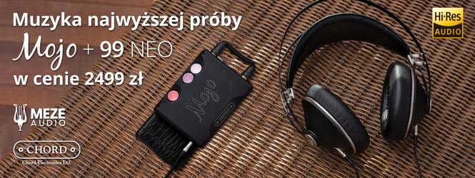 Zestaw Chord Mojo + Meze 99 Neo
