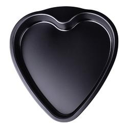forma  blacha do pieczenia snb serce czarna 34 x 23 cm