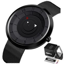 Zegarek męski skmei 9174 biznesowy czarny