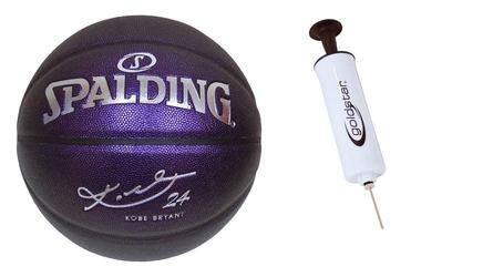 Piłka do koszykówki spalding kobe bryant 24 ellite + pompka goldstar
