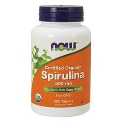 Now spirulina - 200tab