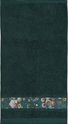 Ręcznik fleur ciemnozielony 60 x 110 cm