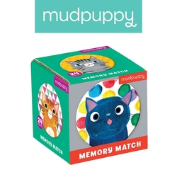 Gra mini memo mudpuppy - koty