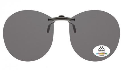 Nakładki czarne pilotki polaryzacyjne na okulary korekcyjne montana c4