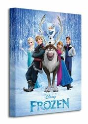 Frozen Cast - Obraz na płótnie