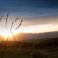 Zachód słońca - plakat wymiar do wyboru: 70x50 cm