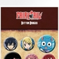 Fairy Tail Characters - przypinki