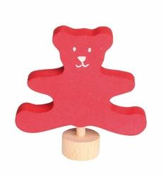 Drewniana figurka, Czerwony Miś, Grimms