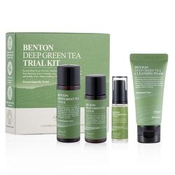 Benton zestaw 4 mini produktów deep green tea trial kit